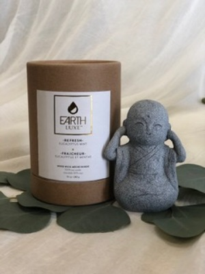 Chakra Eucalyptus Candle from In Full Bloom in Farmingdale, NY