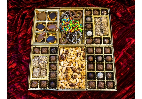Assorted Gourmet Chocolate Box from In Full Bloom in Farmingdale, NY