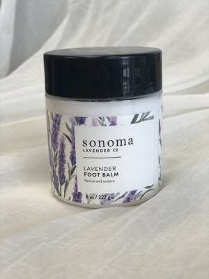 Lavender Foot Balm from In Full Bloom in Farmingdale, NY