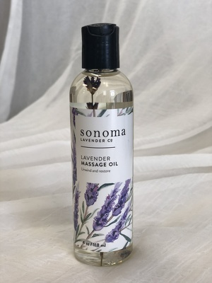 Lavender Massage Oil from In Full Bloom in Farmingdale, NY