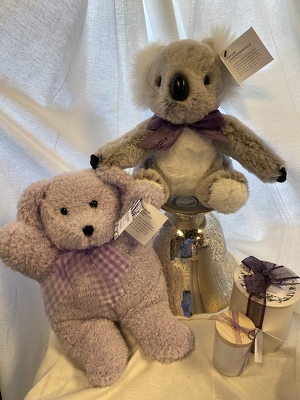 Lavender Plush and Candles from In Full Bloom in Farmingdale, NY