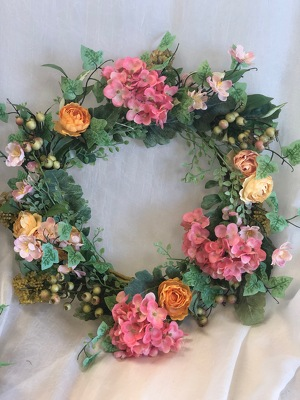 Silk Wreath 1 from In Full Bloom in Farmingdale, NY