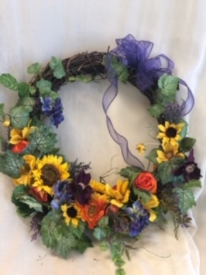 Silk Wreath 5 from In Full Bloom in Farmingdale, NY