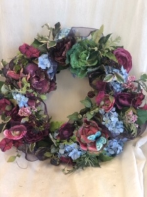Silk Wreath 8 from In Full Bloom in Farmingdale, NY