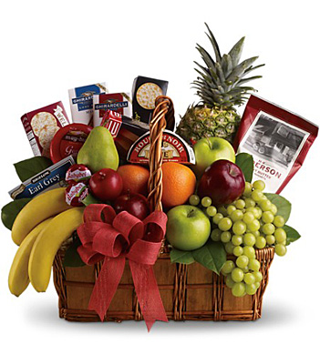 Bon Vivant Gourmet Basket from In Full Bloom in Farmingdale, NY