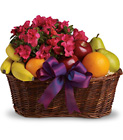 Fruits and Blooms Basket from In Full Bloom in Farmingdale, NY