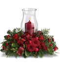 Holiday Glow Centerpiece from In Full Bloom in Farmingdale, NY