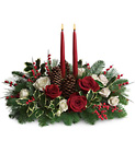 Christmas Wishes Centerpiece from In Full Bloom in Farmingdale, NY