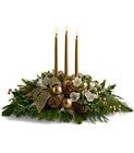 Royal Christmas Centerpiece from In Full Bloom in Farmingdale, NY