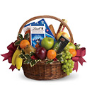 Fruits and Sweets Christmas Basket from In Full Bloom in Farmingdale, NY