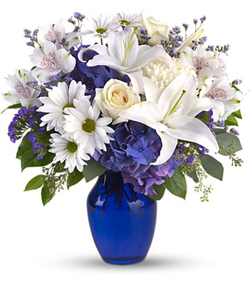 Beautiful in Blue from In Full Bloom in Farmingdale, NY