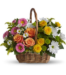Sweet Tranquility Basket from In Full Bloom in Farmingdale, NY