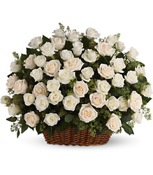 Bountiful Rose Basket from In Full Bloom in Farmingdale, NY