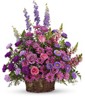 Gracious Lavender Basket from In Full Bloom in Farmingdale, NY