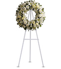 Serenity Wreath from In Full Bloom in Farmingdale, NY