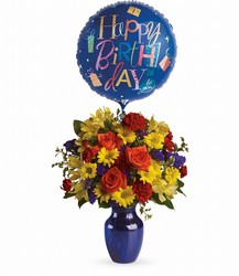 Fly Away Birthday Bouquet from In Full Bloom in Farmingdale, NY