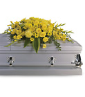 Graceful Grandeur Casket Spray from In Full Bloom in Farmingdale, NY