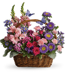 Country Basket Blooms from In Full Bloom in Farmingdale, NY