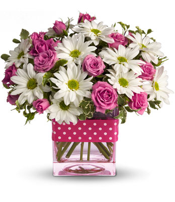 Polka Dots and Posies from In Full Bloom in Farmingdale, NY