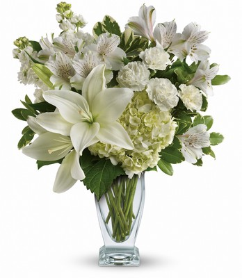 Purest Love Bouquet from In Full Bloom in Farmingdale, NY