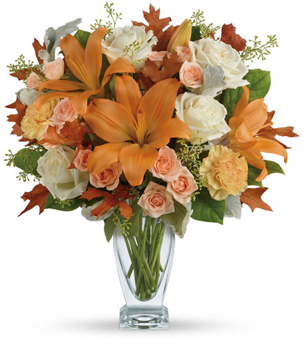 Seasonal Sophistication Bouquet from In Full Bloom in Farmingdale, NY