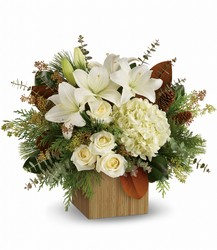 Snowy Woods Bouquet from In Full Bloom in Farmingdale, NY
