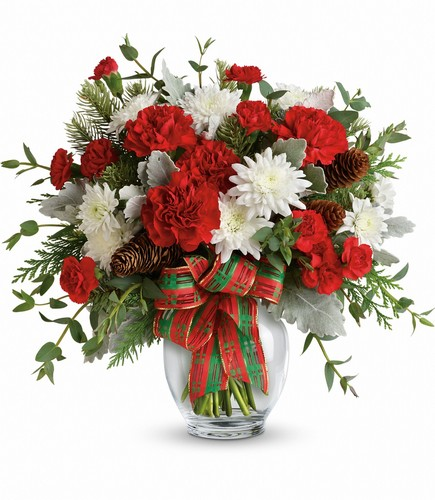 Holiday Shine Bouquet from In Full Bloom in Farmingdale, NY