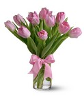 Precious Pink Tulips from In Full Bloom in Farmingdale, NY