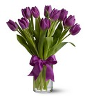 Passionate Purple Tulips from In Full Bloom in Farmingdale, NY