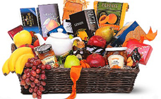 Grande Gourmet Fruit Basket from In Full Bloom in Farmingdale, NY